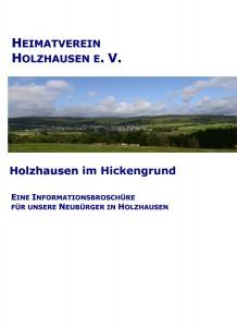 Deckblatt der Neubürgerbroschüre