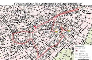 Plan Historischer Dorfrundgang