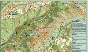 Wanderwege in und um Holzhausen