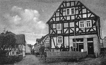 Das alte Engelbert's Haus am früheren Säuplatz