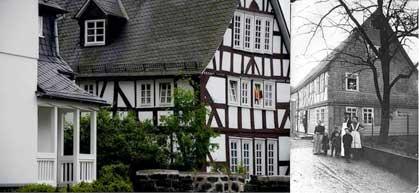 Haus Sparkasse, Metzgerei Kreuz früher